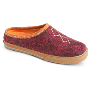Raspberry Heather Acorn Crossroad Mule
