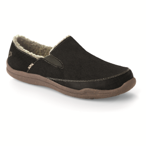 Graphite Suede Acorn Wearabout Moc with Firmcore