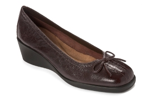 Dark Brown Leather Aerosoles Tempire State