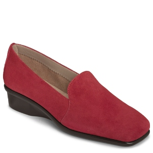 Red Suede Aerosoles Me Time