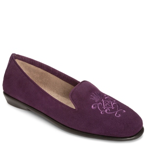 Purple Suede Aerosoles Betunia