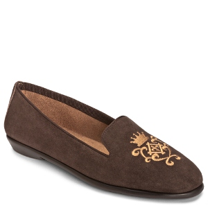 Dark Brown Suede Aerosoles BETUNIA