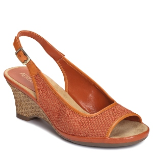 Orange Fabric Aerosoles Dozen Roses
