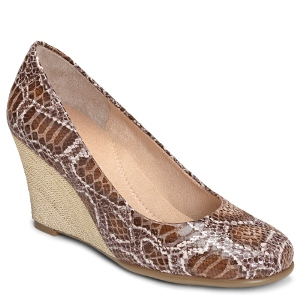 Tan Snake Aerosoles Plum Tree