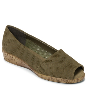 Mid Green Suede Aerosoles Sprig Break
