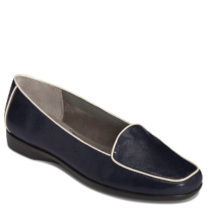 Dark Blue Leather Aerosoles Survival