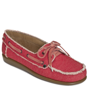 Red Fabric Aerosoles Soft Drink