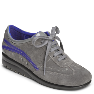 Dark Gray Suede Aerosoles Air Cushion