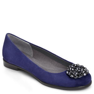 Dark Blue Suede Aerosoles Becxotic