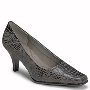 Dark Gray Croco Aerosoles Envy