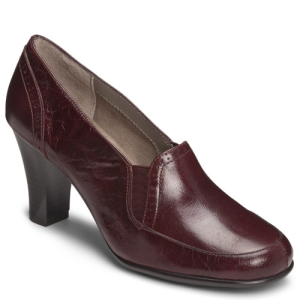 Red Leather Aerosoles Cerolean