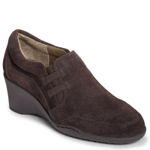 Dark Brown Suede Aerosoles Contor