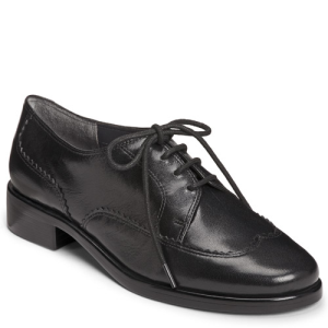 Aerosoles Accomplishment  Black Leather - Womens $75.00 AT vintagedancer.com