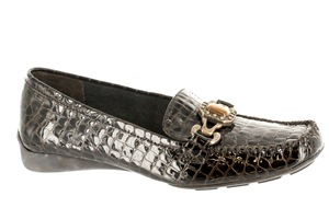 Brown Croco Bella Vita Diane