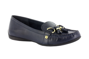 Navy Leather Bella Vita Mallory