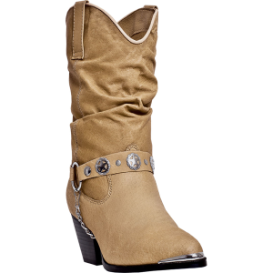 Dingo Bailey : Tan Pigskin - Womens