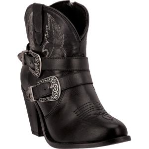 Dingo Bridget : Black Milled - Womens