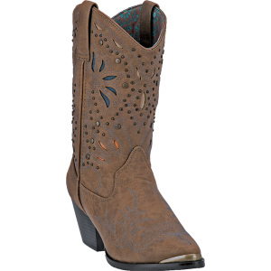 Dingo Annabelle : Dark Tan Distressed - Womens