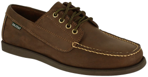 Eastland Falmouth : Bomber Brown - Mens