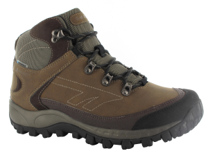 Dark Chocolate Hi-Tec Quest Hike WP
