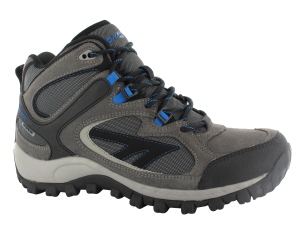 Charcoal Hi-Tec West Ridge Mid WP