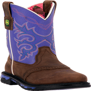 John Deere Johnny Popper : Dark Brown/Purple - Childrens