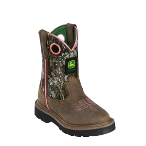 John Deere Classic Pull-On : Dark Brown-Mossy Oak - Childrens