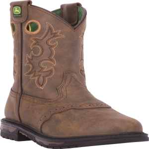 John Deere Youth : Tan Distressed - Youth
