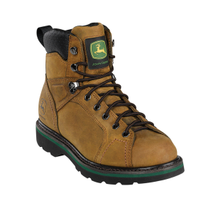 John Deere Lace To Toe : Brown Crazy Horse - Mens