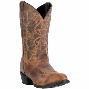 Laredo Birchwood : Tan Distressed - Mens