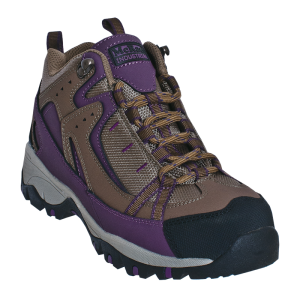 Tan/Purple McRae Mid Height Steel Toe Hiker