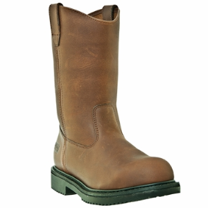 "Brown McRae 10"" Steel Toe"
