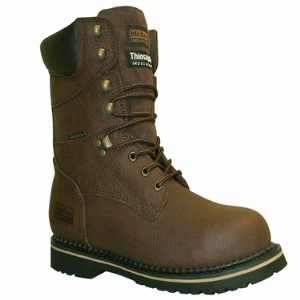 "Brown Pitstop McRae 8"" Insulated Waterproof Steel Toe"