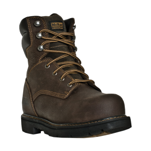 Chestnut Crazy Horse McRae 8 Inch ST Lace Up