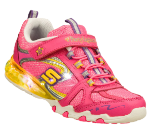 MultiPink Skechers S Lights: Party Lights - Sparkle Diamonds