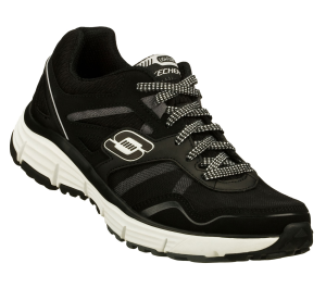 WhiteBlack Skechers Alignment