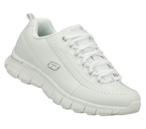 White Skechers Flex Fit - Super Power