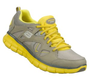 YellowGray Skechers Synergy - Memory Sole