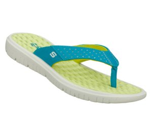 Green Blue Skechers Wave Rider