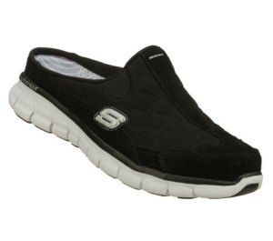 WhiteBlack Skechers Synergy - Elite Spot
