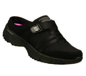 Black Skechers Agility - Kick Back