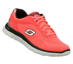 Pink Skechers Flex Appeal - Love Your Style
