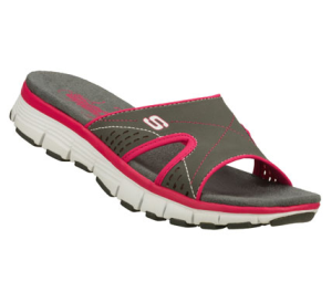PinkGray Skechers Bravos - Perfect Match