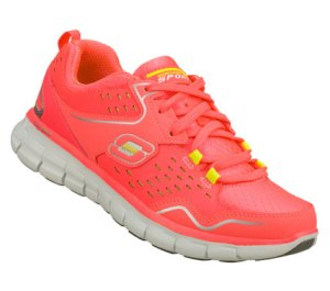 Pink Skechers Synergy - A Lister