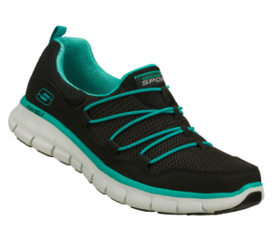 BlueBlack Skechers Synergy - Loving Life