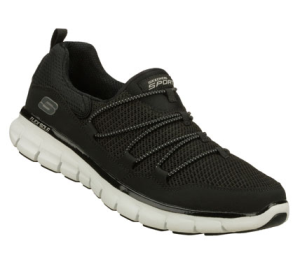 WhiteBlack Skechers Synergy - Loving Life