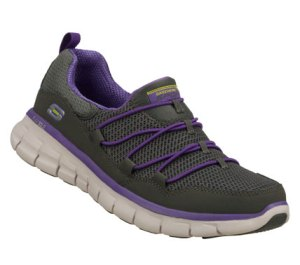 PurpleGray Skechers Synergy - Loving Life