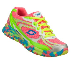 MultiPink Skechers Synergy - Confetti Color