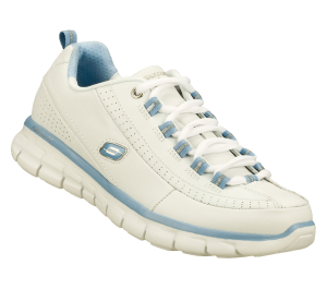 Lightt Blue-White Skechers Synergy - Elite Status