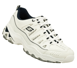NavyWhite Skechers Encore - Golden Ticket